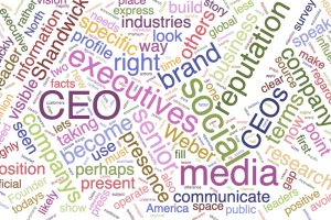 CEO wordcloud